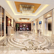 beibehang Custom fashion classic pvc wallpaper high-end European style jade relief floor wall papers home decor behang