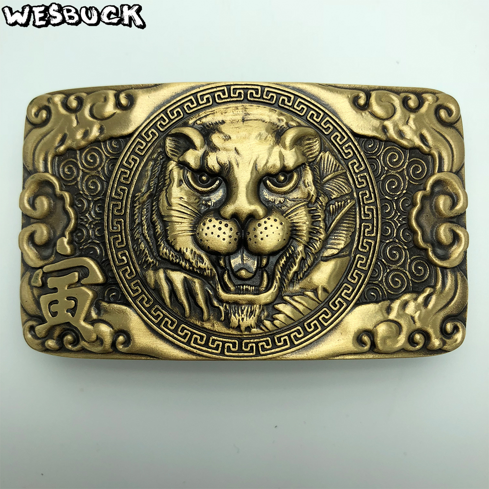 0746f80f1 Buy tiger head belt buckle and get free shipping on AliExpress.com