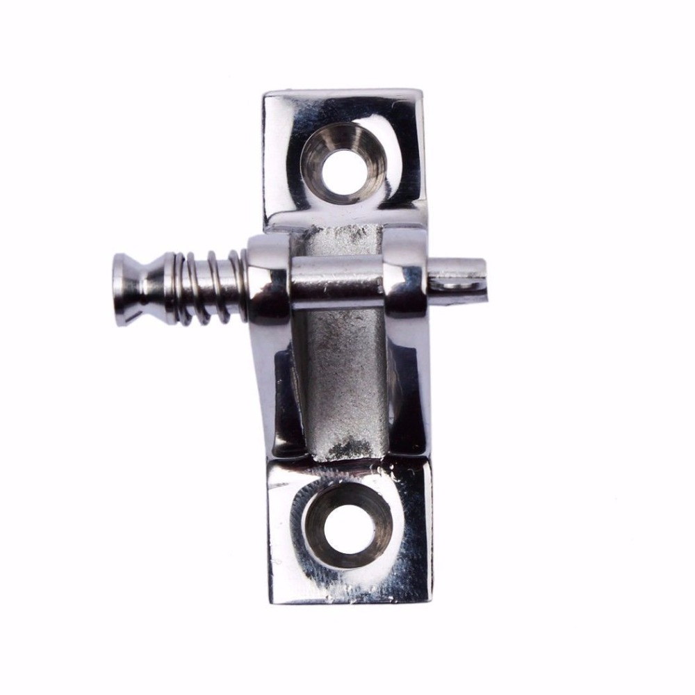 Deck Hinge Boat Bimini Top Fitting 90 Degree Pin Stainless steel Practical