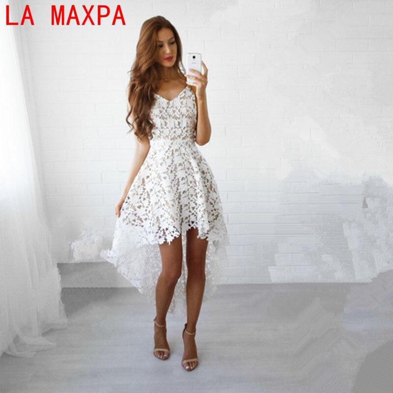 f8ddf63fd20 Playa negro mujer mujeres vestido blanco backless pink azul encaje boho  moda red bordado largo wine