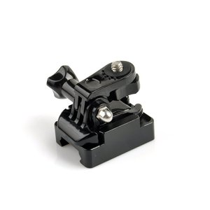 Image 2 - Picatinny Weaver Gun Hunting Rail Mount+Buckle For Hdr AS100v AS50V AS200V Action Cam Accessories