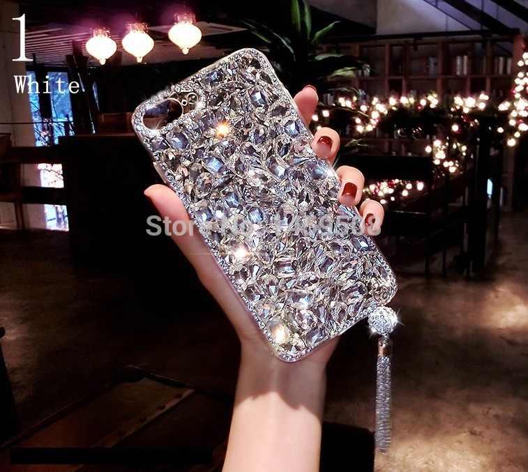 Pour Xiaomi Redmi 5 6 4A 5A 6A Note 5 Pro 4 4X S2 Y2 Gros Étui Strass Diamant Couverture