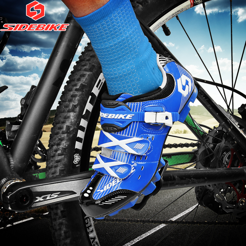 sidebike cycling shoes mtb man women bicycle shoes racing mountain bike sneakers professional self-locking breathable bici corsa