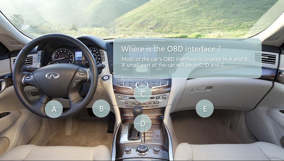 OBD2 ELM327 V1.5 Bluetooth/WIFI Car Diagnostic Tool ELM 327 OBD Code Reader Chip PIC18F25K80 Work Android/IOS/Windows 12V Car