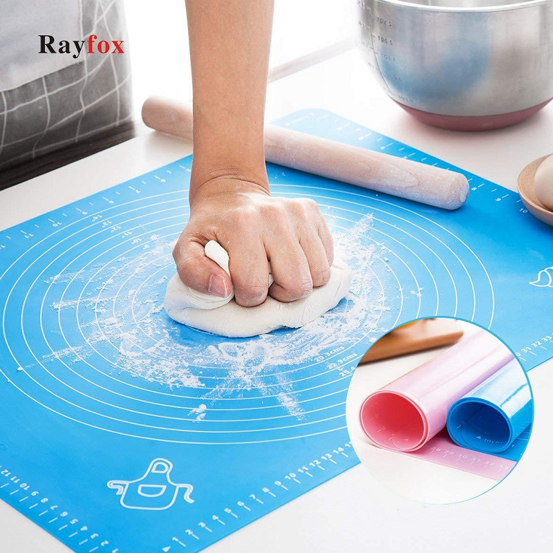 Kitchen Accessories Silicone Baking Mats Sheet Pizza Dough Non Stick Maker Holder Pastry Cooking Tools Utensils Kitchen Gadgets|Garnishes| - AliExpress