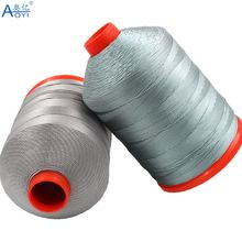 aoyi 12 strand sewing thread polyester for leather and sofa sewing machine threads supplies 0.8mm sew thread machine good pull