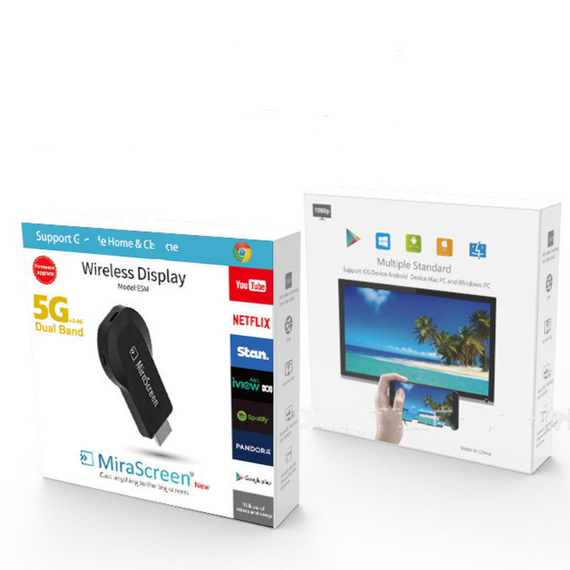 128 Mb Hdmi 2,4g/5g Tv Stick Dongle Mirascreen Wi-fi Display Empfänger Dlna Airplay Miracast Airmirroring Für Windows10 Adapter