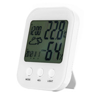 Accurate Baby S Room Digital Hygrometer Indoor Thermometer Gauge With Backlight Temperature Humidity Monitor Tester New