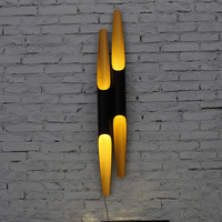 Eusolis E27 Iron Pipe Lamp Cylinder LED Wall Lights Circular Tube Applique Murale Luminaire Wandlamp Abajur Lampen Lampara 17
