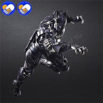 Suonare Arti Kai | Gioca Arts Kai PA TChalla Black Panther Super Hero Iron Man PA 27 Centimetri IN PVC Action Figure Doll Giocattoli Per Bambini Regalo Brinquedos 3 Versioni