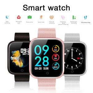 Image 1 - 여성 IP68 방수 스마트 워치 P70 P68 블루투스 4.0 Smartwatch For IPhone LG 심박수 모니터 피트니스 트래커