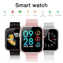 Женские IP68 Водонепроницаемые Смарт часы P70 P68 Bluetooth 4,0 Смарт часы для IPhone LG монитор сердечного ритма фитнес трекер