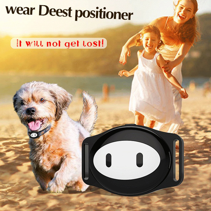 Free Shipping Super Smart waterproof GPS tracker for Pet dog cat personal Control Real Time GPS Tracking via IOS Andriod App mini gps tracker real time waterproof diy pet dog collars gps tracker life time free platform service charge easy to use