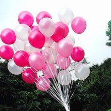 24/36pcs 12Quality Pearl Balloon Latex White, Pink And Dark for Wedding Party Decorations 3 Colors mix L