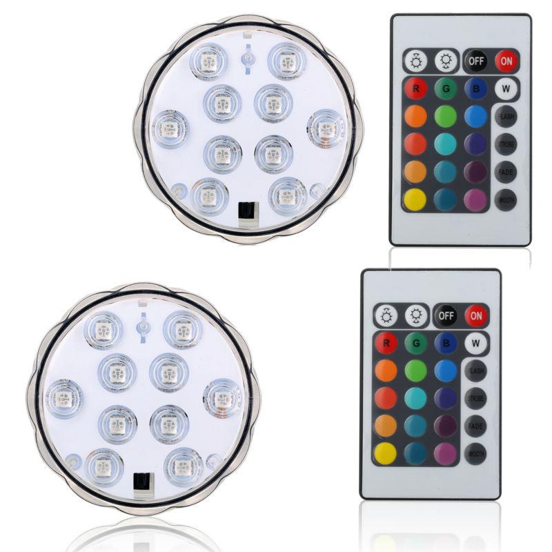 1db / tétel Vízálló virág alakú LED-es fény alap karácsonyi kedvence fény dekoráció 16 szín elérhető