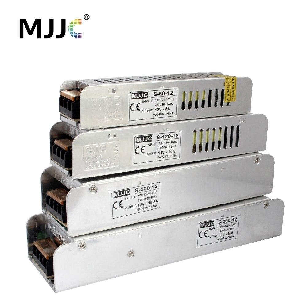 12 volts Fonte De Alimentação 110 V 220 V AC para 12 V 5A 60 W 12.5A 150 W 10A 20A 30A Comutação de Alimentação LEVOU Transformador de Luz de Tira