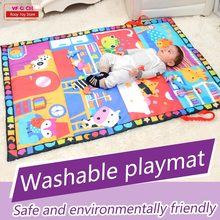 baby font b toys b font play mat children s mat kids rug puzzle gym baby