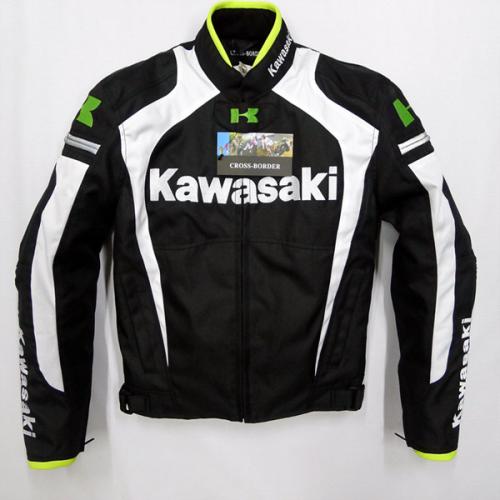 Chaqueta moto for kawasaki mens motorcycle racing riding clothing Windproof warm jacket men jaqueta motoqueiro jackets Car Race