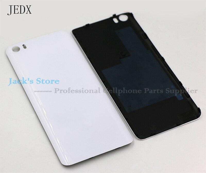 imágenes para Para Xiaomi mi 5 M5 Mi5 Tapa de La Batería Original 3D Material de Cristal Volver Puerta de La Batería Tapa de La Carcasa Negro blanco