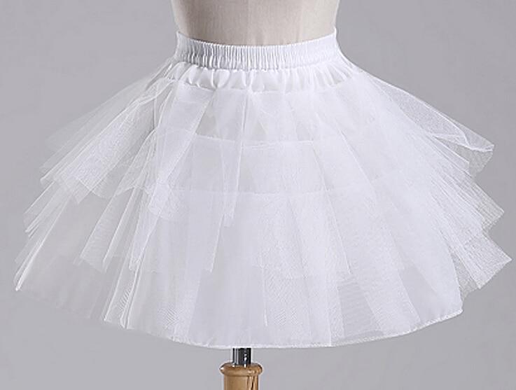 Wholesale Wedding Gowns In Usa: Wholesale Bridal Dress Petticoat Triple Organza Short