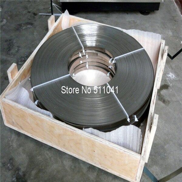 titanium Strip on coil Titan Grade 2 with testcertificate 3.1 titanium foil 0,05 x 30 mm 1kg ,free shipping