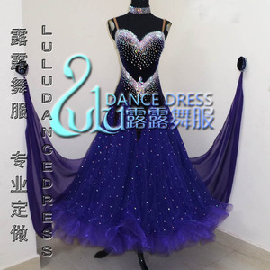 Image 1 - 2016New競技社交ダンスドレス、若年ダンスの服、ステージ社交ドレス、タンゴダンスドレス、社交ドレス