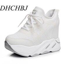 2019 Women High Platform Shoes New Autumn Breathable