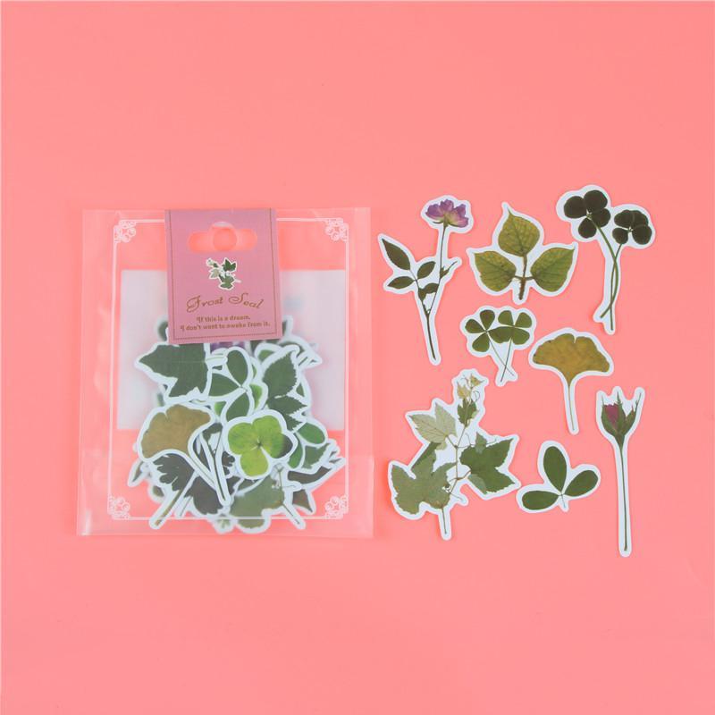 1 пакет, милые Мультяшные декоративные наклейки в Корейском стиле, клейкие наклейки, скрапбукинг, сделай сам, декоративные наклейки для дневника - Цвет: U