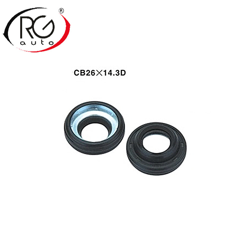 Auto AC compressor oil seal seal stamp seal washerLIP TYPE with RUBBER MOUNTED shaft seal ring
