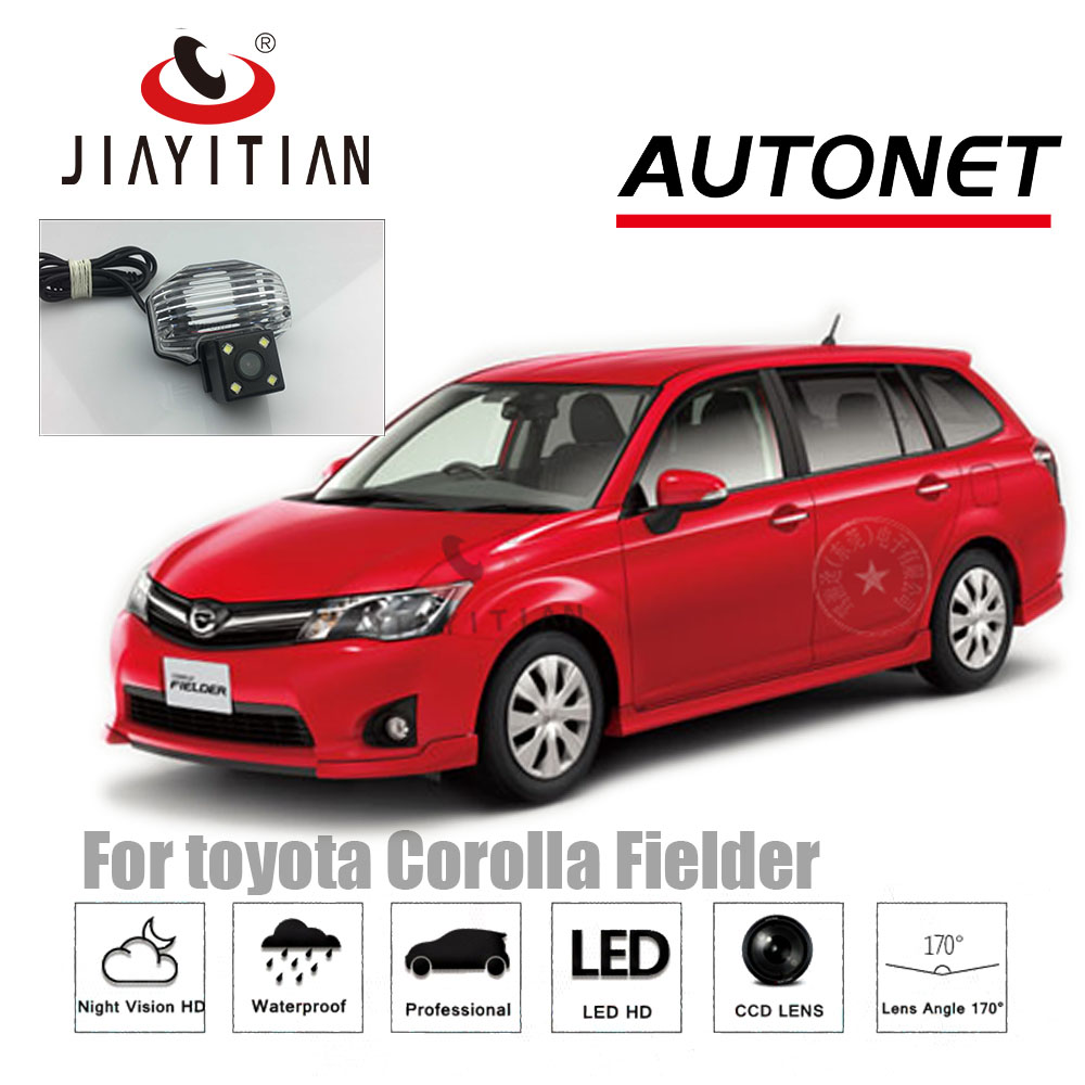 Jiayitian Rear Camera For Toyota Corolla Axio 4d Sedan Fielder 5d Wagon 08 Reverse Camera Ccd Night Vision License Plate Camera A639