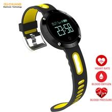 Heart Rate Blood pressure Sleep Monitor Healthy Smartwatch Fashion Sport Digital Smart Watches Pedometer Distance Calories Watch
