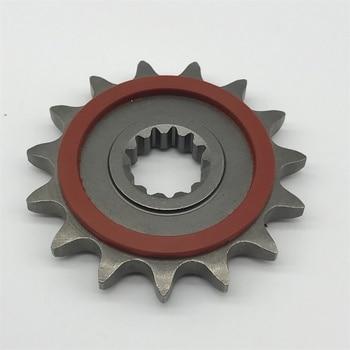 Motorcycle Small sprocket  15 teeth pinion for Benelli TRK 502 BJ300 TNT300 BN302 BJ500 BJ600 TNT600