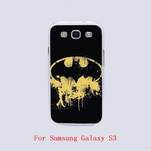 Batman Symbol Wallpaper Design Hard Plastic Phone Cover Cases For