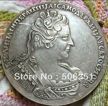 wholesale 1733 russian coins 1 Rouble copy 100% coper manufacturing old coins