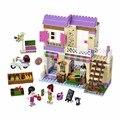 Bela 10495 Amigos Heartlake cidade Blocos de Construção de Brinquedo de Presente de Menina Mia Do Mercado de Alimentos