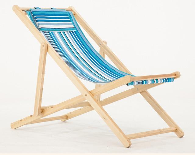 Beach Chairs Outdoor Furniture Garden Wood Camping Chair Kamp Sandalyesi Folding Chaise Longue Fishing