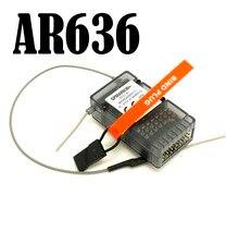 AR636A 3X 6CH Sport Ontvanger Met Veilig Functie AR636 Voor AS3X Zender Gratis Verzending