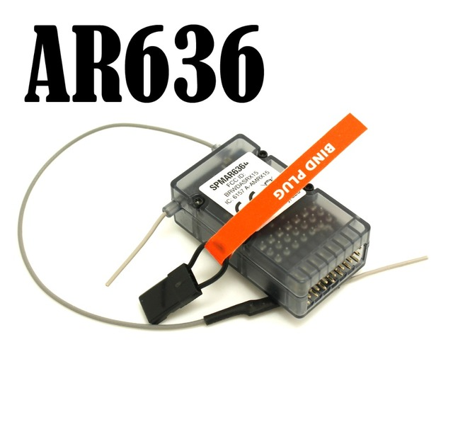 AR636A 3X 6CH Sport Receiver WITH Safe Function AR636 FOR AS3X TRANSMITTER Free Shipping