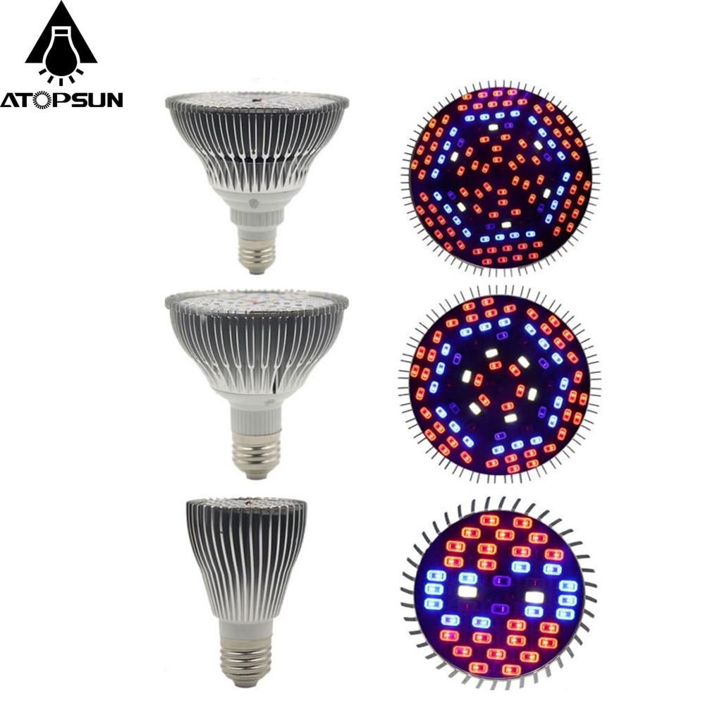 1PCS Full Spectrum LED Grow Light 30W 50W 80W Bulb Led Plants Lamp for Indoor hydroponics