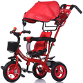 Поворотные сиденья трехколесный велосипед детская коляска детская коляска ребенка велосипед