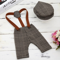 Newborn Baby Clothing Set Cute Bib Tracksuit for 0 1M Baby Photography Kids Clothing