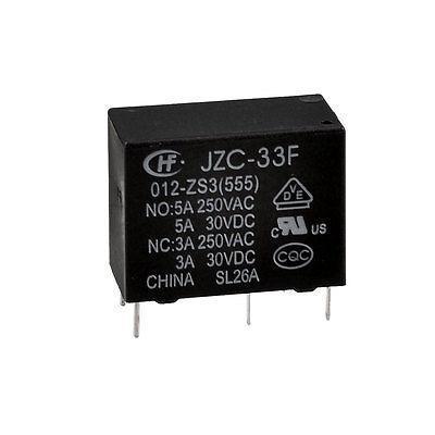 цена на Against Under-voltage Tool 12V DC SPDT 1NO 1NC Power Relay JZC-33F