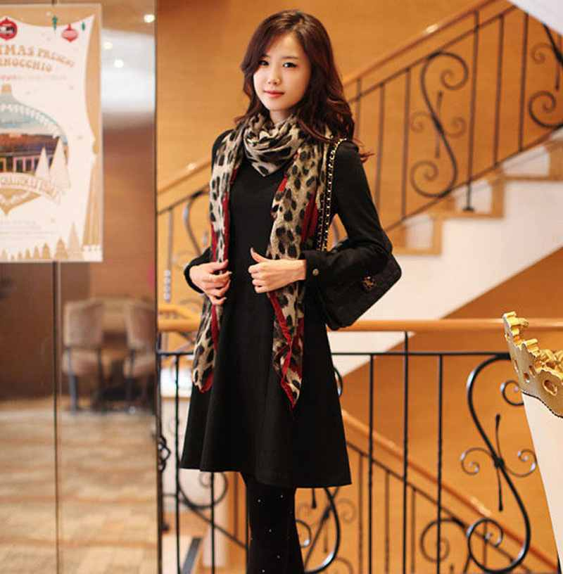 2016 New Women Ladies Leopard Stylish Long Soft Silk Chiffon   Scarf     Wrap   Shawl   Scarves   Hot Item Hottest