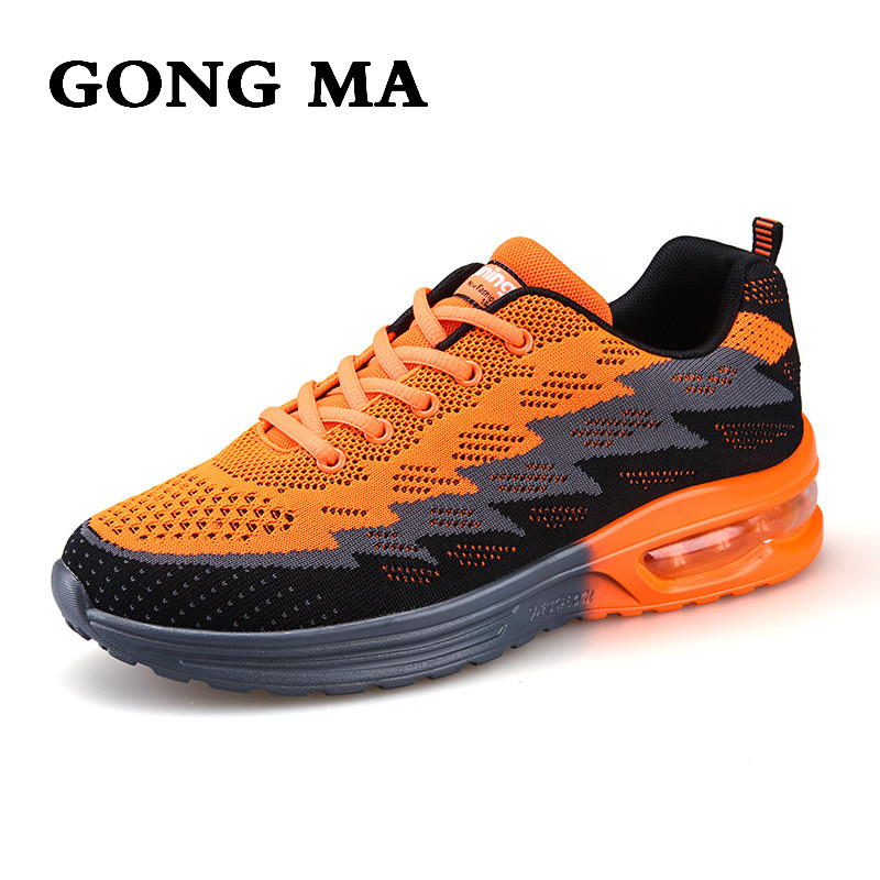 ФОТО GONG MA Fashion men casual Shoes Fly Line couple cushioning wear walking shoes mens trend breathable with low luxury brand shoes