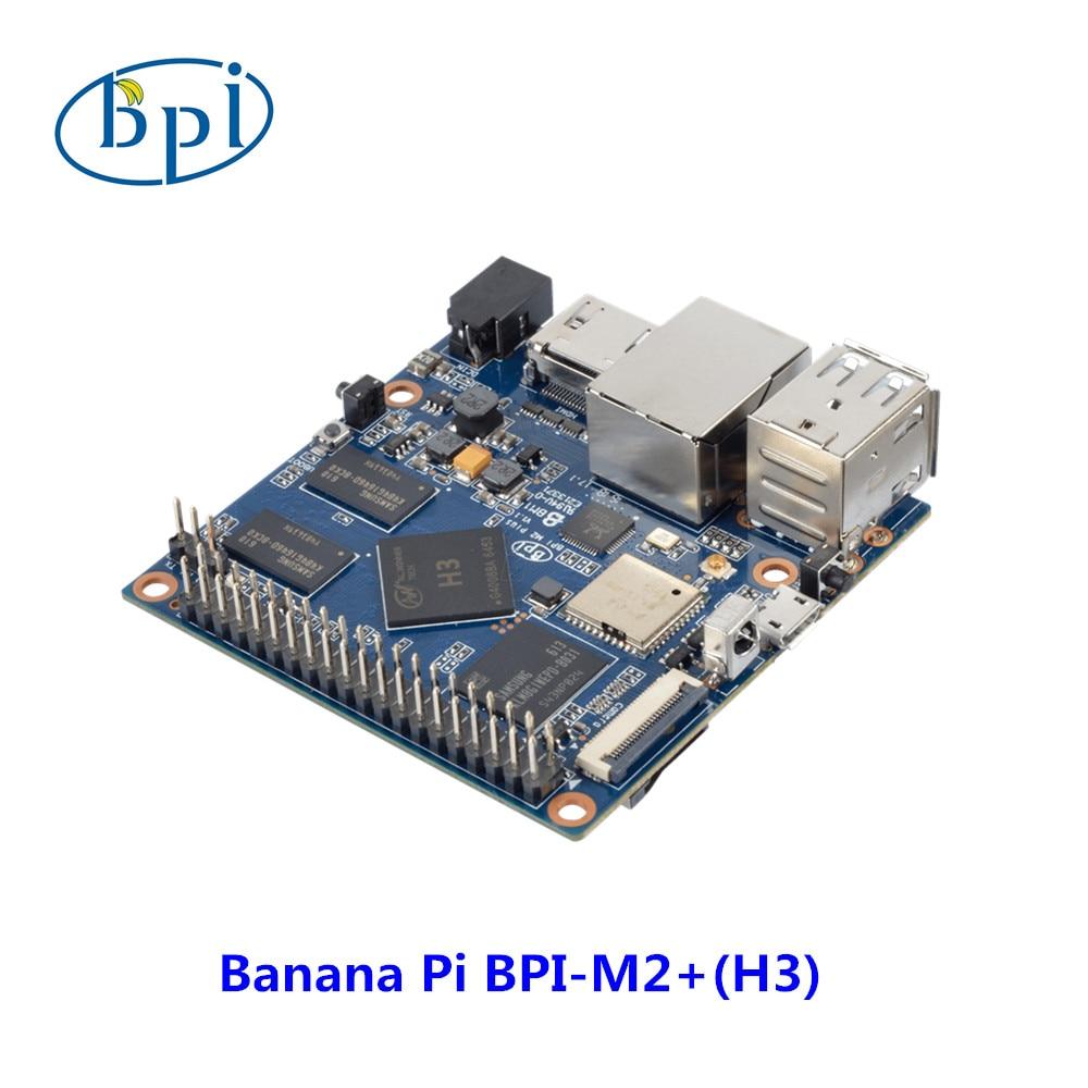 Allwinner H3 Chip Quad-Core A7 SoC  BPI-M2 Plus Banana Pi M2+ Development Board