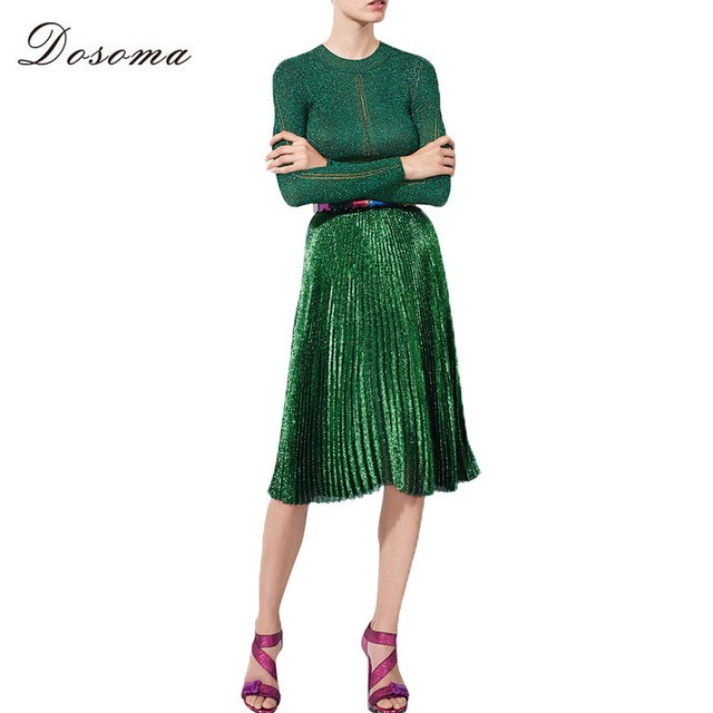 DOSOMA-2017-New-Women-Pleated-Skirts-Fashion-Elegant-High-Waist-Tutu-Party-Ladies-Spring-Summer-Metal.jpg_640x640