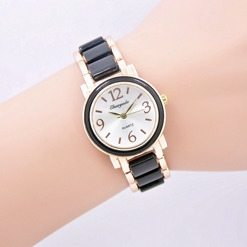 reloj mujer top brand luxury women quartz-watch stainless steel ladies Analog bracelet watch women montre femme wrist watches women quartz wrist watch vintage lace flower printed ladies watches casual leather band analog women s watch montre femme reloj