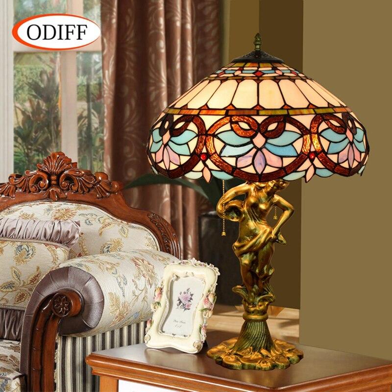 ODIFF Europäischen luxus kreative Herz Barock glasmalerei wohnzimmer ...