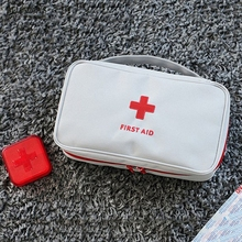 Wholesale free shipping 50pcs First Aid Package Drug Receiving Bag Creative Cosmetic Handbag Portable Medical Tourism