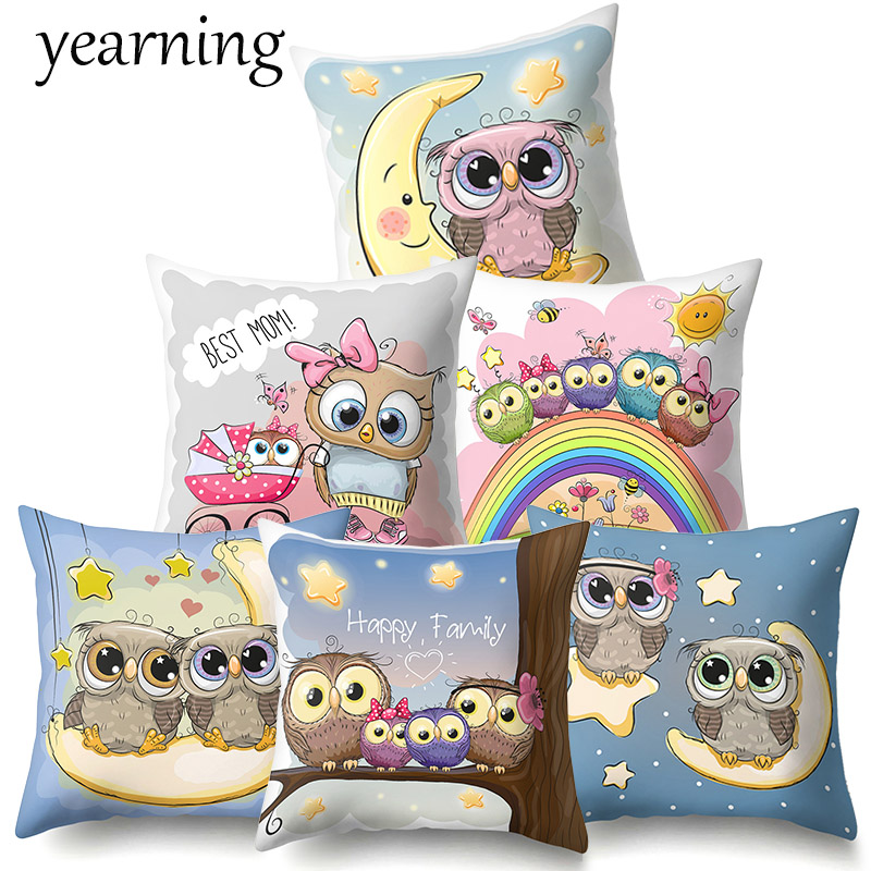 Yearning Cushion Cover Pillow Case Decoration Home